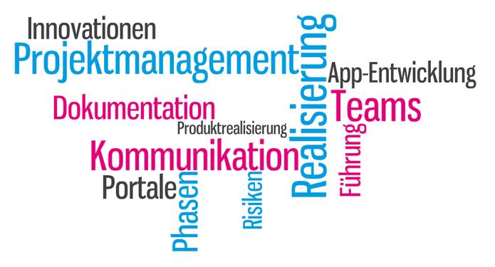 Isabella Andric - Blogbeitrag zu Projektmanagement, Teams, Führung, Realisierung - Tag Cloud