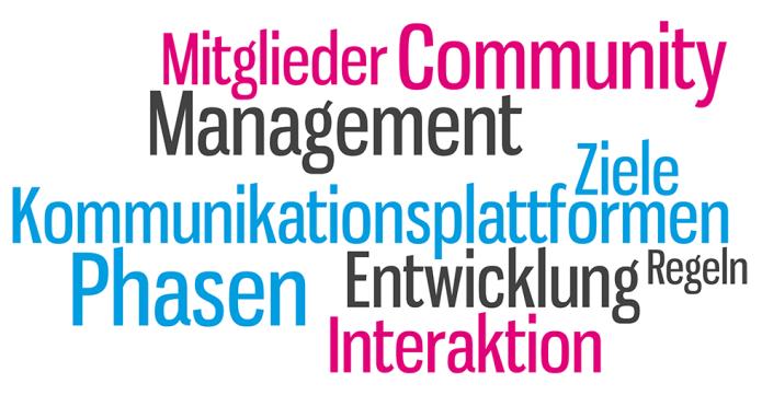 Isabella Andric - Blogbeitrag - Entstehen einer Community - Phasen - Interaktion - Management - Mitglieder - Ziele - Plattformen - Tag Cloud