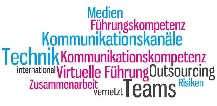 Isabella Andric - Blogbeitrag zu virtuelle Teams - Mdien - Teams - Zusammenarbeit - Führung - Tag Cloud