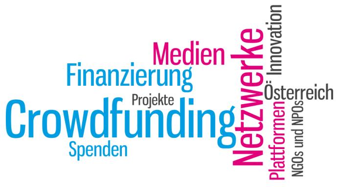 Isabella Andric - Blogbeitrag - Österreich Crowdfunding 5 Plattformen - Tag Cloud