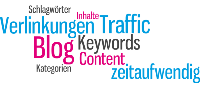 Isabella Andric- Blogbeitrag zu Bloggen - Traffic Keywords Schlagwörter Verlinkungen