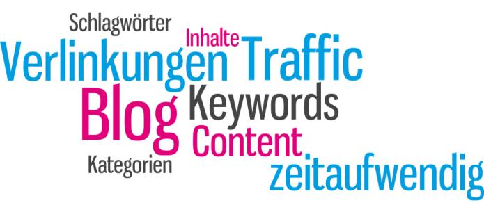 Isabella Andric- Blogbeitrag zu Bloggen - Traffic Keywords Schlagwörter Verlinkungen